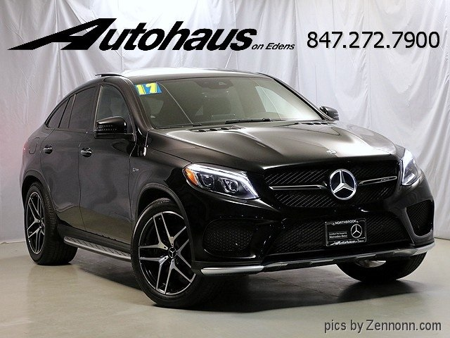 Certified Pre Owned 2017 Mercedes Benz Gle Amg Gle 43 Coupe Coupe