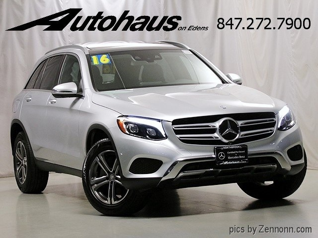 Certified Pre-Owned 2016 Mercedes-Benz GLC GLC 300 SUV in Northbrook ...