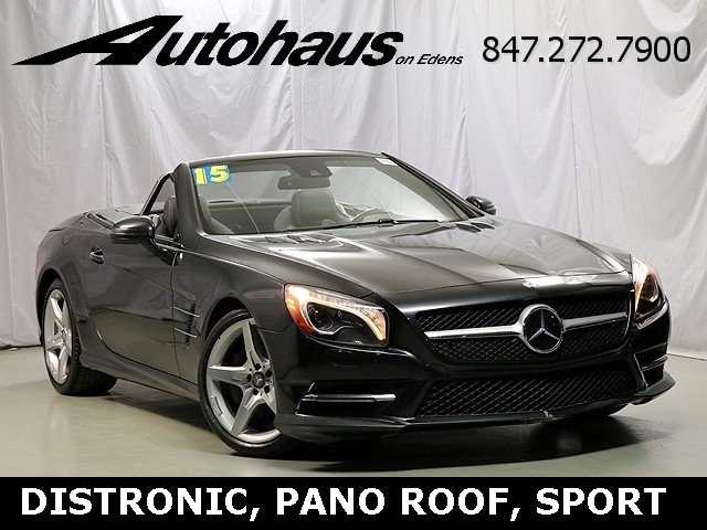 Pre-Owned 2015 Mercedes-Benz SL SL 550