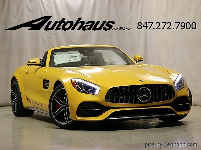 new 2018 mercedes benz amg gt c 2d convertible in northbrook 48